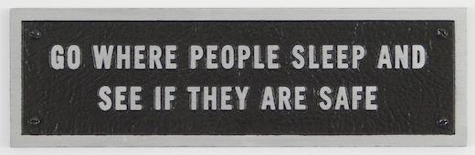 Survival Series: Go where people sleep..., 1984