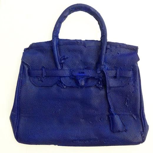 Homemade Hermes Birkin Bag (IKB), 2016