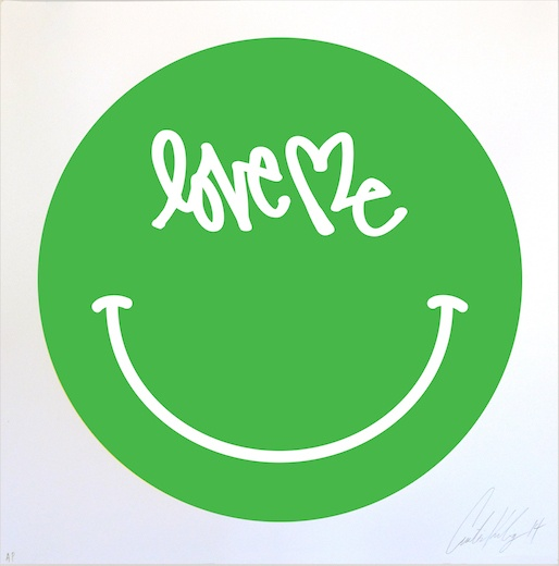Love Me Smiley, Green, 2014