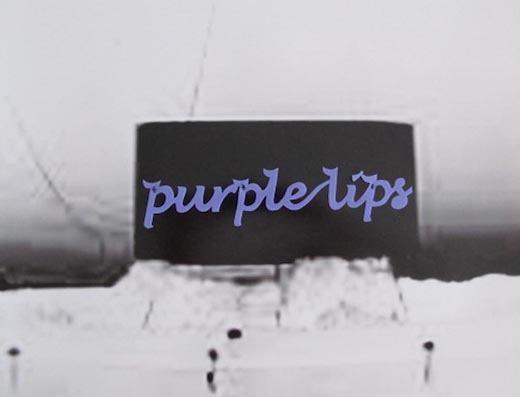 purple lips, 2017