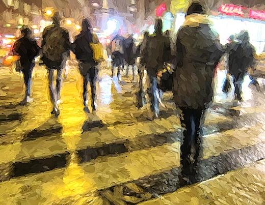 People Crossing, 2015