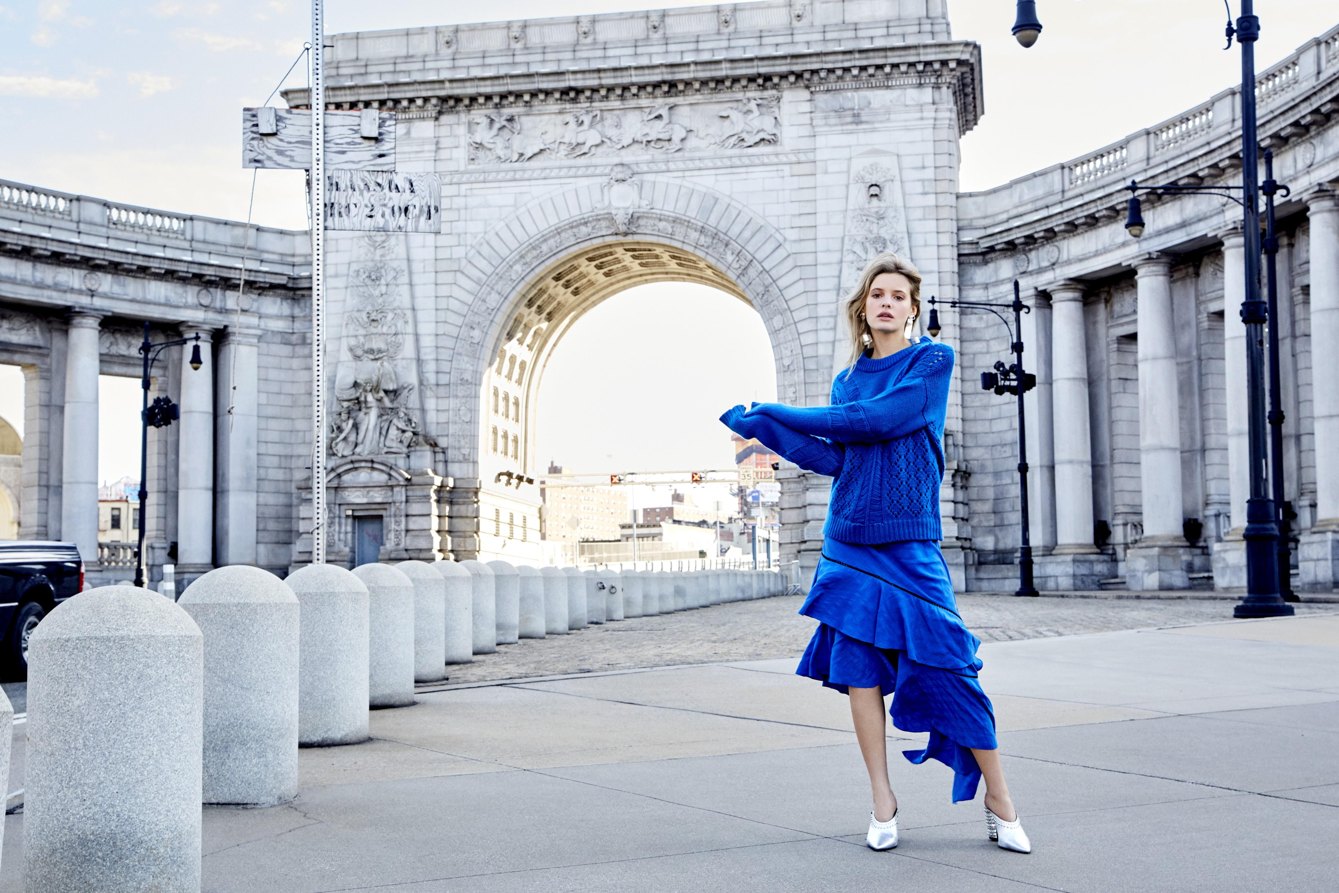 Paige by the Manhattan Bridge, 2016