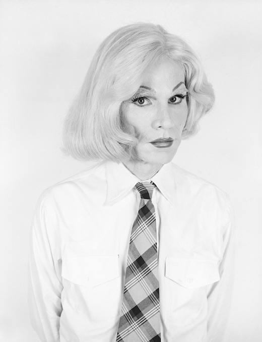 Altered Image Long Blonde Wig Headshot, 1981