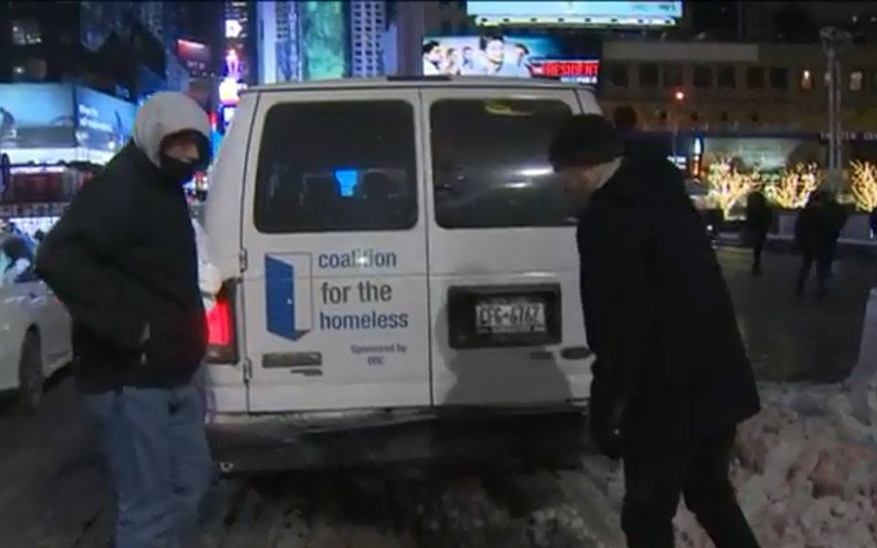 'Code Blue' Issued as Freezing Temperatures Threaten NYC Homeless Population