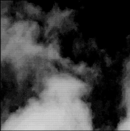 Dot Map Drawing for Haku-Un (White Cloud), 2018