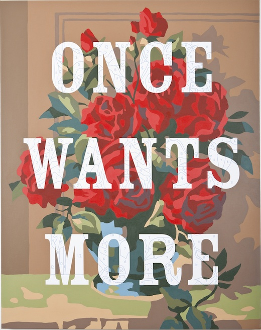 Once Wants More, 2013