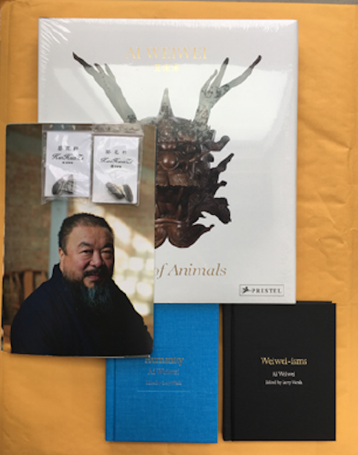 Circle of Animals, 2011; Weiwei-isms, 2012; Humanity, 2017; 2 Sets of Ai Weiwei's